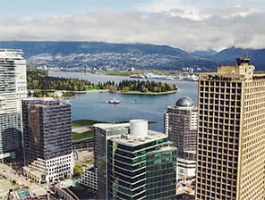 Picture of False Creek in Vancouver